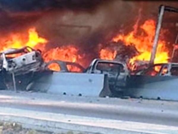 Carambola en la Puebla-Orizaba deja 8 muertos