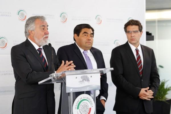 Benjamín Robles, único que garantiza la transición  democrática en Oaxaca: líderes nacionales del PRD