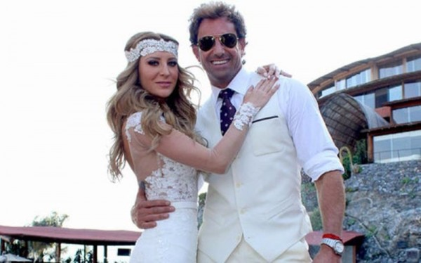 Geraldine Bazán y Gabriel Soto se casan en ceremonia mixteca