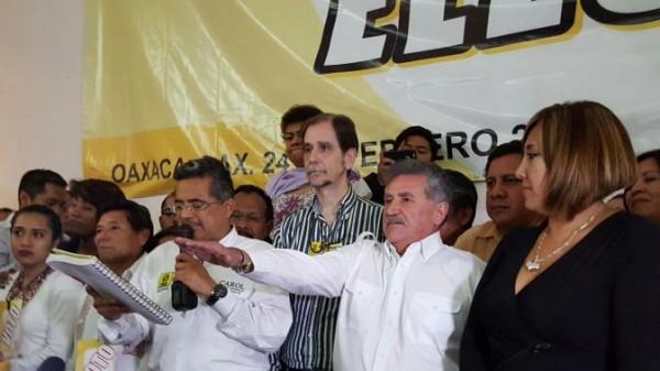 Garfias, oficialmente candidato del PRD a Gobernador