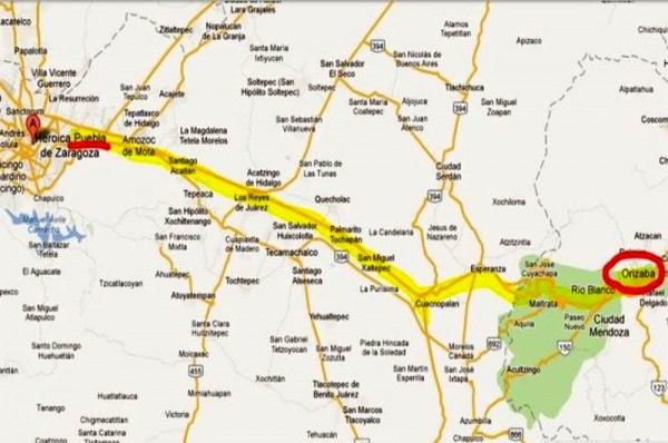 Reportan 3 oaxaqueños heridos en accidente en autopista Puebla-Orizaba