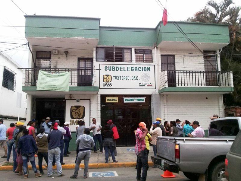 CODECI vuelve a manifestarse en Tuxtepec