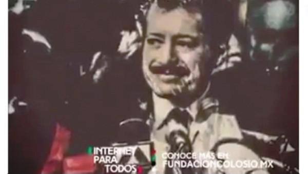 PRI recuerda a Luis Donaldo Colosio con video en Facebook