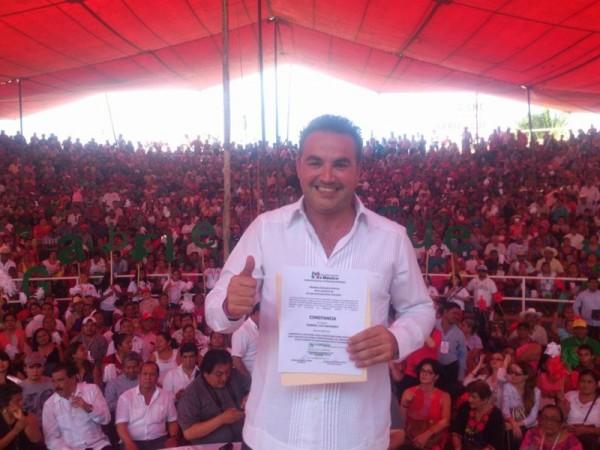 Gabriel Cué toma protesta como candidato a Diputado Local del distrito 02