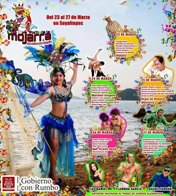 "Arranca  la XXX ""Feria de la Mojarra"", en San Miguel Soyaltepec"