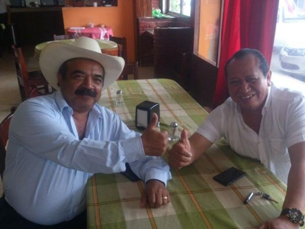 Silvino Reyes y Celestino Urbano, desmienten diferencias políticas