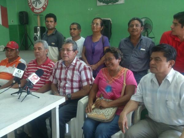 ALCACUP y Comisión de Enlace se pronuncian a favor de Fernando Bautista Dávila