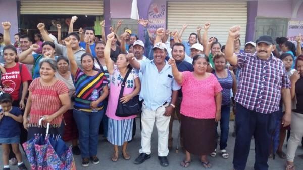 Colonias de la zona sur, respaldan a Fernando Bautista Dávila