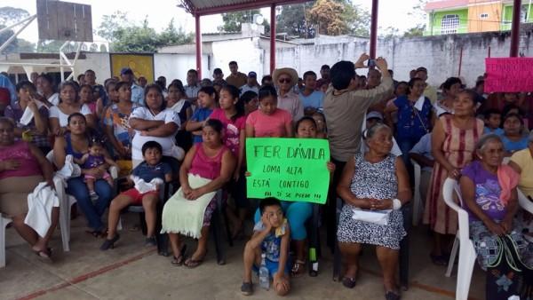 Colonias y comunidades se siguen sumando a proyecto de Fernando Bautista Dávila