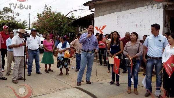 GALERÍA: Gobierno Municipal realiza arranque de obras en Tuxtepec