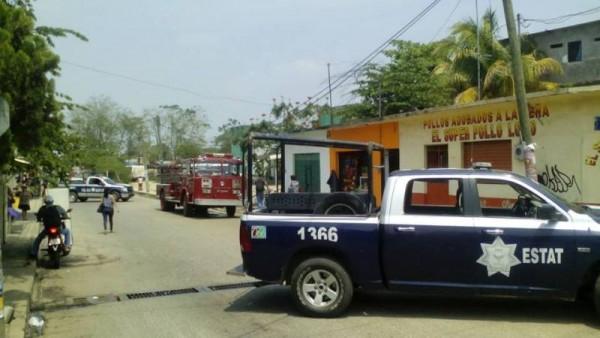GALERÍA: Incendio en la Maria Eugenia