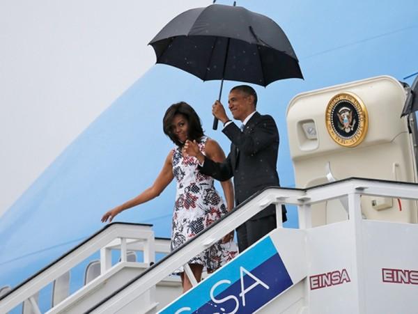 Barack Obama llega a Cuba, en primera visita de un presidente de EU en casi 90 años