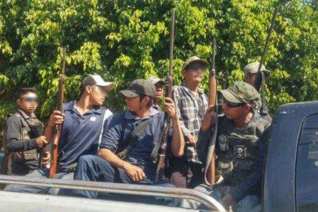 Irrumpe en Guerrero grupo de 200 hombres armados