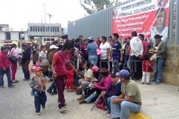 Protesta Frente Popular 14 de Junio en Ciudad Judicial