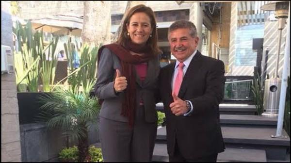 Respalda Margarita Zavala a Estefan Garfias