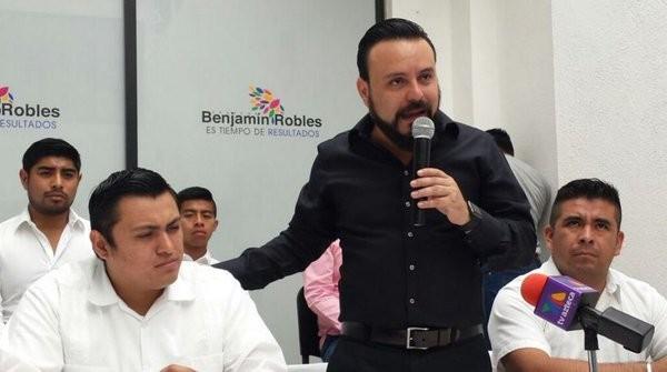 Estructuras del PVEM se une aproyecto de Benjamín Robles