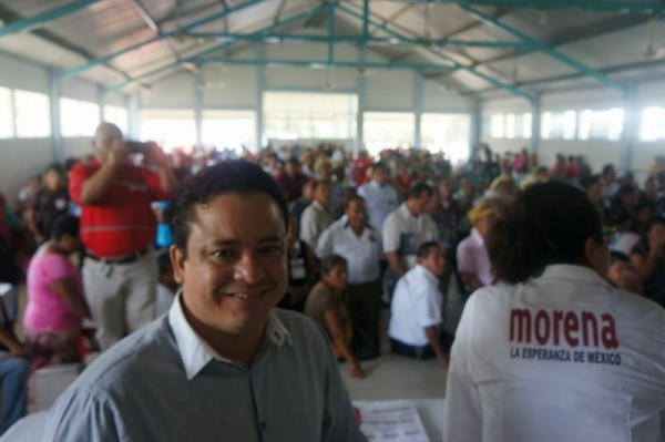 La lucha de Morena es por no dejarse corromper por los viejos vicios de otros partidos: Fentanez
