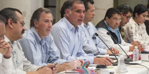 Meade anuncia inversión de mil 400 mdp para Oaxaca