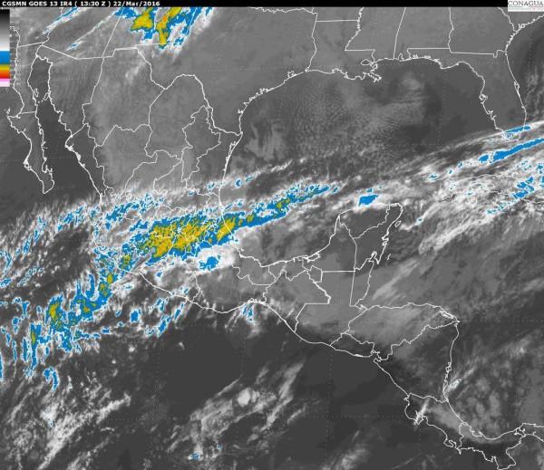 Pronostican fuertes vientos para el sur y sureste del pais
