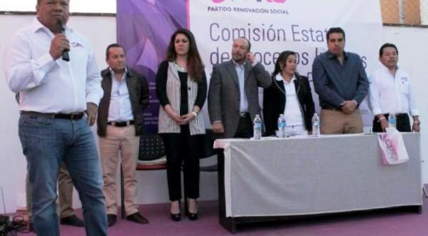 Joaquín Ruiz Salazar, candidato a Gobernador por el PRS