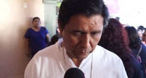 Para evitar violencia, el cambio se tiene que hacer en uno mismo: Obispo de Tuxtepec