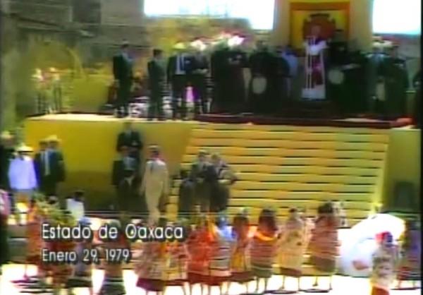 VIDEO: Mira algunas imágenes de Juan Pablo II en Oaxaca 1979
