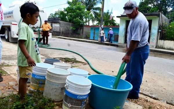 Repartición de agua, lo deciden  autoridades municipales y auxiliares: Piperos