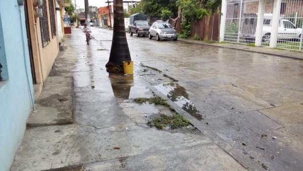 #DENUNCIACIUDADANA: Vecinos afectados por hundimiento
