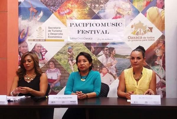 """25 y 26 de marzo se realizará el """"Pacífico Music Festival"""" en Salina Cruz"""