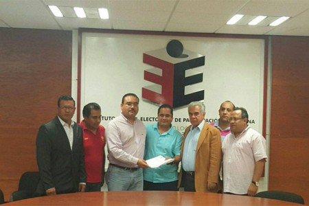 Registra PES a Alejandro como su candidato al gobierno de Oaxaca