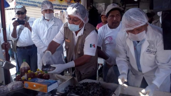 Jurisdicción Sanitaria supervisa puestos de pescados y balnearios