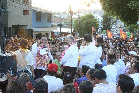 """Asegura Benjamín Robles: """"Yo no voy a traicionar al pueblo de Oaxaca"""""""