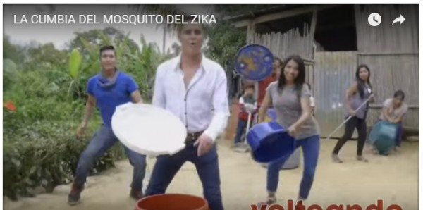 La cumbia del Zika ¡contagia de risa a las redes sociales!