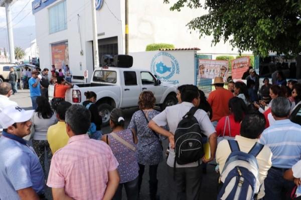 Realizará Sección 22 ayuno en Oaxaca, para exigir pagos retenidos