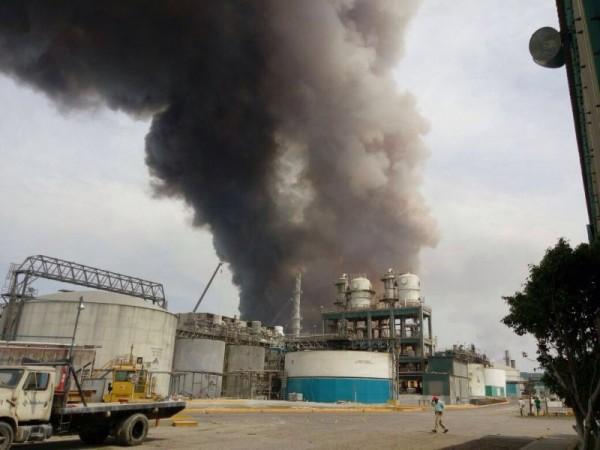 GALERÍA: Explosión en planta de Coatzacoalcos Veracruz
