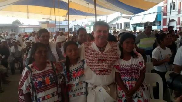 Yo he caminado hombro con hombro con las etnias: Pepe Toño Estefan