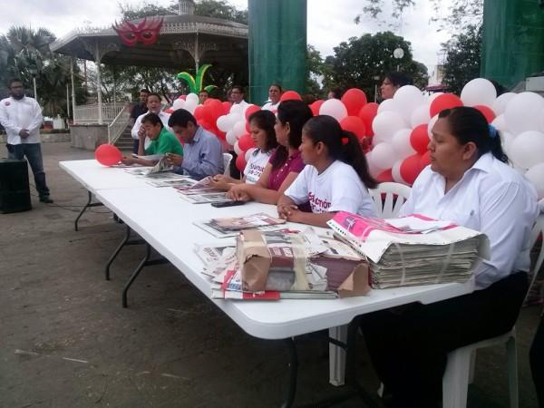 Promotores, inician campaña de Salomón Jara en la Cuenca