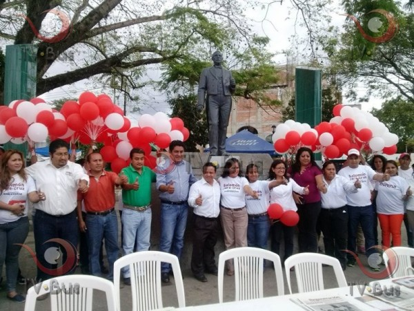 Promotores de la Soberanía inician campaña por Jara en Tuxtepec