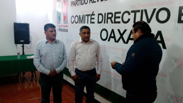 FOTOS: Nombran a Andrés Santiago Parada Dirigente del PRI Tuxtepec