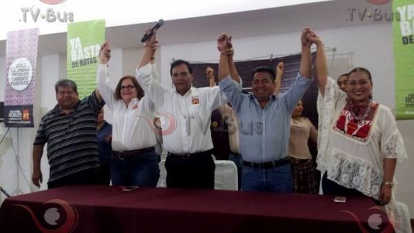 Presentan a Fernando Dávila como candidato del PT a presidencia de Tuxtepec