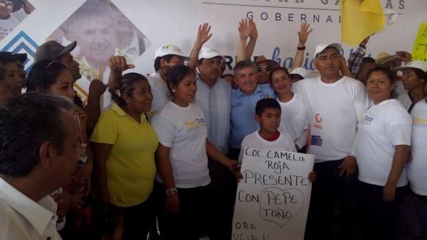 Simpatizantes priístas  de Tuxtepec se suman a proyecto de Estefan Garfias