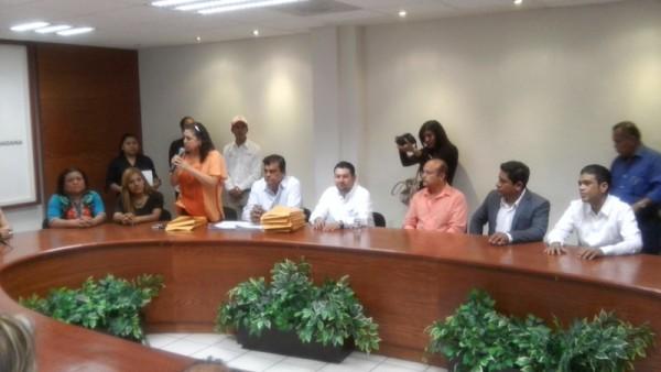 Movimiento Ciudadano registra candidatos a Presidentes Municipales ante IEEPCO