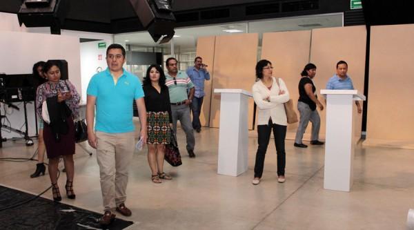 Verifican IEEPCO y partidos, sede para Debate Oaxaca 2016