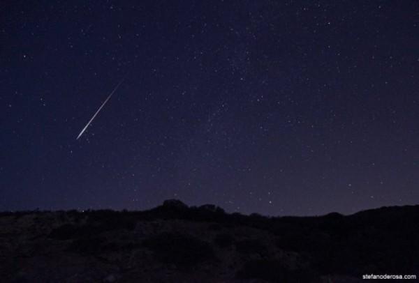 Lluvia de estrellas líridas durante esta noche