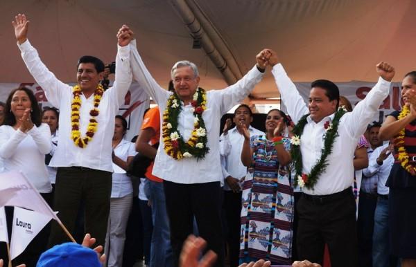 """""""Comparto con AMLO el deseo de ver Oaxaca sin corrupción"""": Fentanez"""