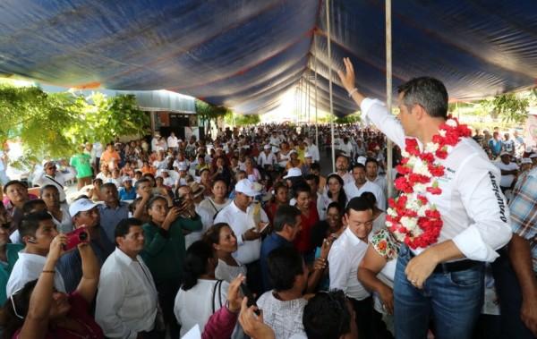 Se compromete Alejandro Murat Hinojosa a impulsar el campo y el sector productivo