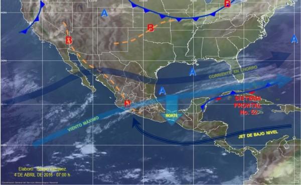 Continúa alertamiento por evento de norte en istmoy golfo de Tehuantepec