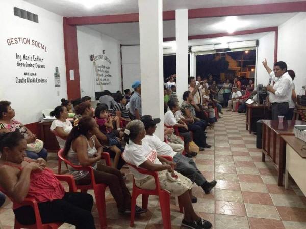 Loma Bonita se solidariza con Irineo Molina