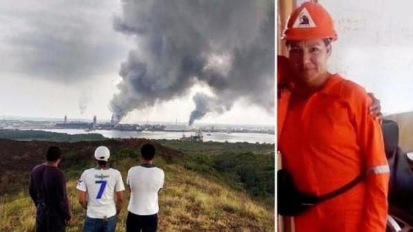 Muere oaxaqueña durante explosión de Pemex en Pajaritos, Veracruz