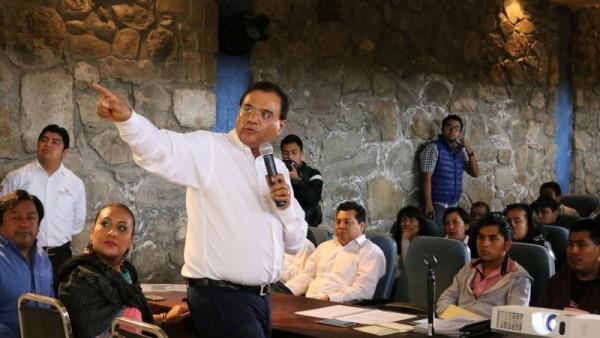 Campaña de propuestas; revolución por la dignidad de Oaxaca: Benjamín Robles